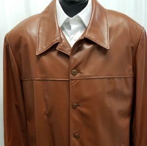 ,Bart Leather Coat